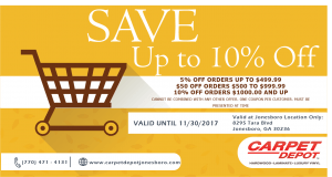 November Coupon - Jonesboro