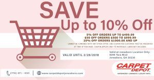 February 2018 Coupon