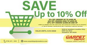 May 2020 Flooring Coupon Jonesboro