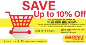 August 2020 Flooring Coupon Jonesboro