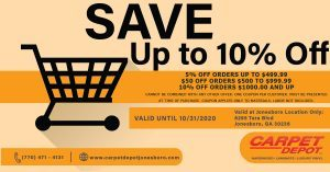 October 2020 Flooring Coupon Jonesboro
